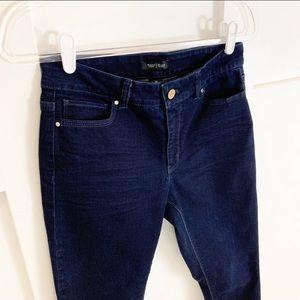 White House Black Market Jeans - White House Black Market Dark Wash Skinny Jeans